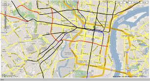 Philly Subway Map by Philly Pols Support Transit Expansion Plans