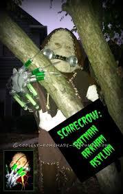 Scarecrow Batman Halloween Costume Glowing Scarecrow Costume Batman Arkum Asylum