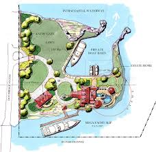 Intracoastal Waterway Map Johnston Island Atlantic Beach Fl Private Island For Sale