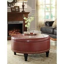 Round Trays For Coffee Tables - coffee table interesting round leather ottoman coffee table round