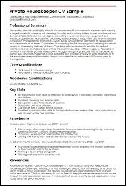Veterinary Resume Sample by Resume Cleaning Manager Resume Sample Housekeeping Resume