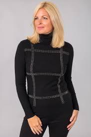 jumper round neck for women online cheap striped knitted jumper