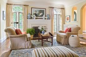 English Colonial Traditional Living Room Minneapolis By - Colonial living room design