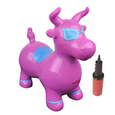 Benny Bull Halloween Costume Benny Jumping Bull Ride Color Purple Walmart