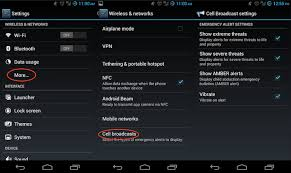 phone settings android how to turn emergency alerts on your phone cnet