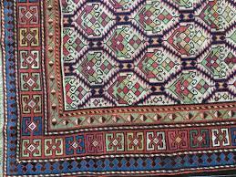 Kuba Rug Stunning Antique Caucasian Kuba Or Dagestan Rug With Field Lattice