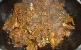 cuisiner le cabri recette cabri massalé rapide 750g
