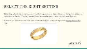 different types of wedding bands buying wedding rings this is what exactly you need to