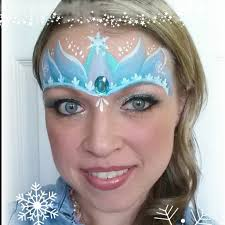 elsa frozen inspired princess crown tutorial christmas face