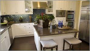 White Cabinets Brown Granite by Granite Counter Tops In Kitchen White Cabinets Elegant Home Design