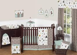 eleven piece crib bedding sets for boys