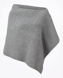 Ottoman Knitted Ottoman Knit Poncho Jigsaw