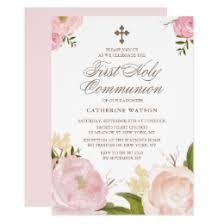 holy communion invitations communion invitations announcements zazzle