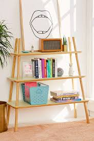 agatha tiered wooden bookshelf urban outfitters urban and