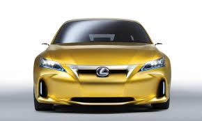 lexus ct200 yellow the lf ch concept by lexus