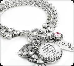 custom birthstone bracelets s bracelet s quote s personalized jewelry