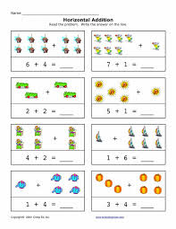 12 best horizontal addition images on pinterest free worksheets