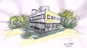 villa savoye floor plan villa savoye floor plan pdf youtube