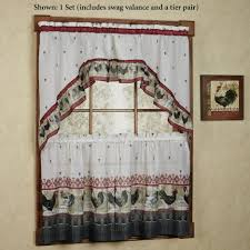 burgundy kitchen curtains and curtain jcpenney valances for
