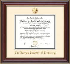 tech diploma frame tech diploma frame cherry lacquer seal on