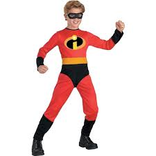 halloween costume for boys amazon com the incredibles mr incredible standard child costume