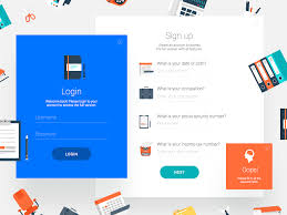 behance login login sign up form pinterest ui ux mockup and behance