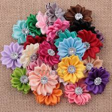 sunflower ribbon 20pcs mixed colors sunflower ribbon drill flatback cabochon for