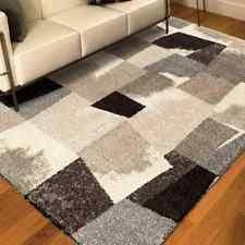 shag flokati abstract area rugs ebay