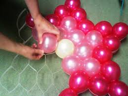 Balloon Decoration At Home Balloon Decorating Ideas For Birthdays All Home Decorations