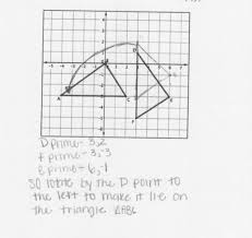 showing triangles congruent using rigid motion students are asked