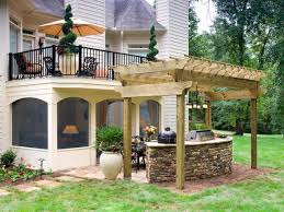 Stone Decks And Patios by From Old Deck To Outdoor Masterpiece The Sisters U0026 Company Hgtv