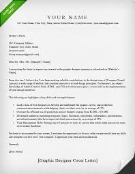 How To Write A Resume Cover Letter Examples by Graphic Designer Cover Letter Samples Resume Genius