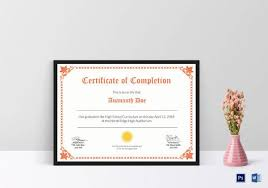 23 certificate templates samples examples format