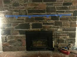 evaluate my plan to add wood mantel to massive old stone fireplace