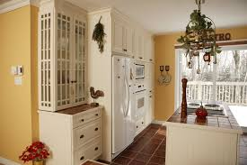 French Kitchen Cabinets Kitchen Appealing Country French Kitchens Ideas With Red White