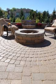 Simple Brick Patio With Circle Paver Kit Patio Designs And Ideas by Welcome To Mansfield Brick U0026 Supply Www Mansfieldbrickandsupply Com