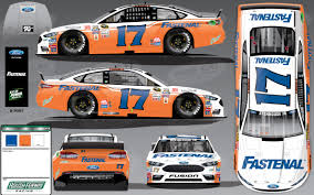 stenhouse throws back to waltrip u0027s first win in no 17 car for