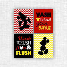 Mickey Mouse Bathroom Accessory Set Best 25 Mickey Mouse Bathroom Ideas On Pinterest Mickey Mouse