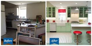 Inspired Kitchen Design This Colorful Retro Kitchen Makeover Will Make You Feel Cheery