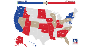Election 2016 Map by 2016 Senate Election Interactive Map
