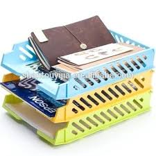 3m Desk Drawer Organizer Plastic Desk Organizer Portable Acrylic File Hanging Storage Box