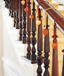 Banister Decorations 21 Ways To Enhance An Entryway Real Simple