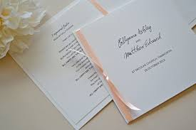 booklet wedding programs wedding program booklet simplicity papers charming paper goods