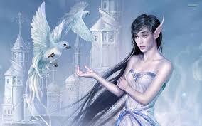 turokmu blogs fantasy wallpapers girls dark 3d background angel