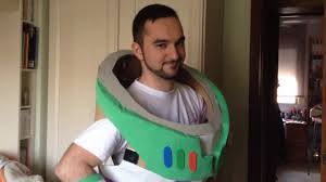 buzz lightyear costume test 1 youtube