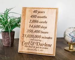 40 year anniversary gift the 25 best 40 year anniversary gift ideas on diy
