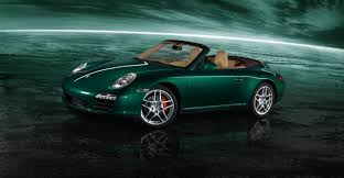 gold porsche convertible 2011 green porsche 911 carrera s cabriolet wallpapers