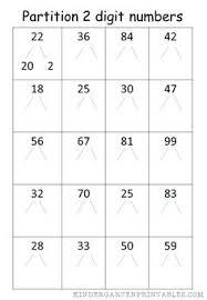 partition 4 digit numbers worksheet number worksheets