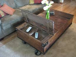 furniture accessories small diy rustic wood storage coffee table