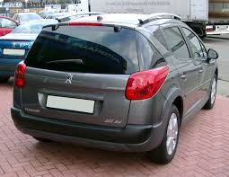 peugeot official site file peugeot 207sw rear 20080102 jpg wikimedia commons